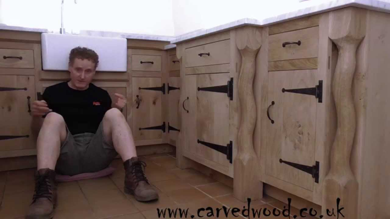 Bespoke handmade kitchen furniture - YouTube