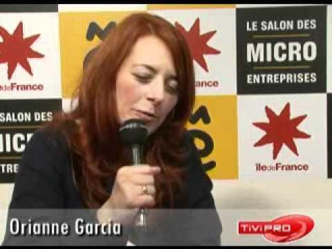 Orianne garcia au salon des micro entreprises youtube - Salon des micro entreprise ...