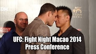 UFC: Fight Night Macao 2014 Press Conference