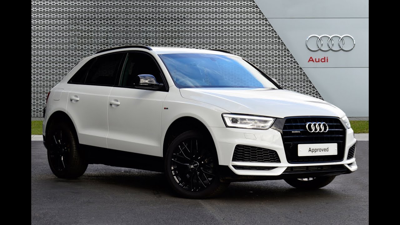 audi q3 tfsi quattro s line black edition white 2017 youtube. Black Bedroom Furniture Sets. Home Design Ideas