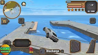 Miami City Theft Simulator #10 Impossible Jumop Car Naxeex Game/Android GamePlay FHD