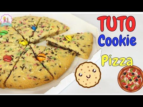 ♡•-recette-pizza-cookie---facile-et-rapide-•♡