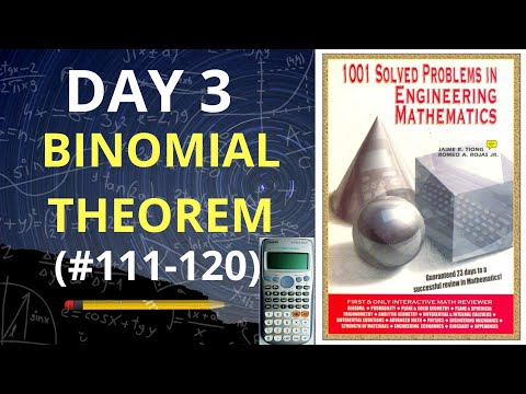 1001 Solved Problems in Engineering Mathematics| Day 3 (problems 111-120) thumbnail