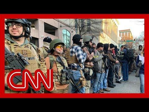 Thousands of gun rights advocates attend pro-gun rally in Richmond, Virginia