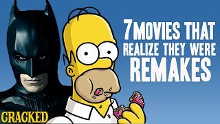 7 Movies That Didn't Realize They Were Remakes (The Dark Knight Rises, The Simpsons Movie)