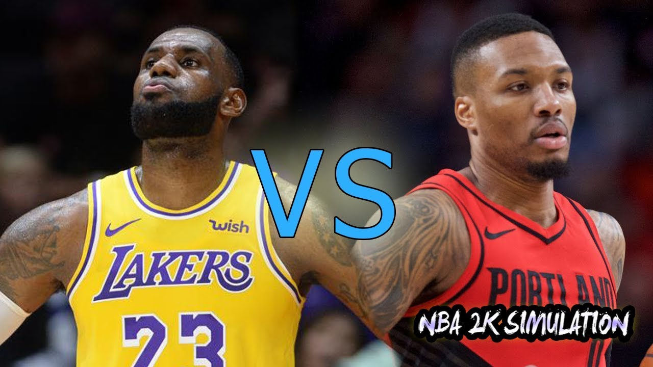 Los Angeles Lakers vs Portland Trail Blazers Full Game ...