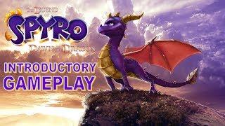 The Legend of Spyro Dawn of the Dragon Introductory Gameplay Xbox 360