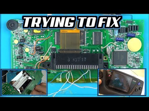 Trying To Install LCD Upgrade On A SEGA GAME GEAR ( McWill )