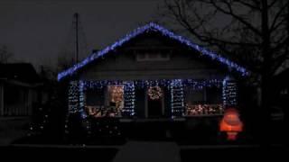 Animated Christmas Lights Display