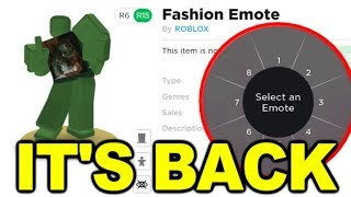 Roblox Emote Update Finally Here again