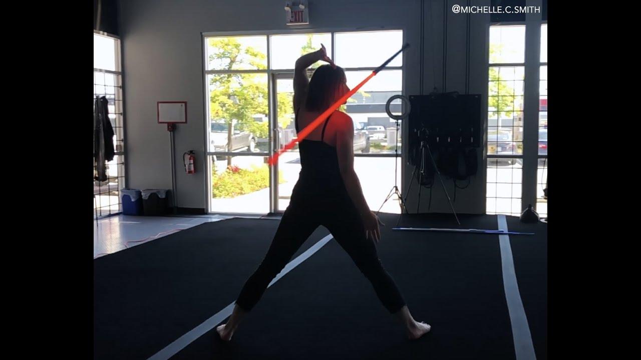 Elegant Lightsaber Skills   Michelle C. Smith #shorts