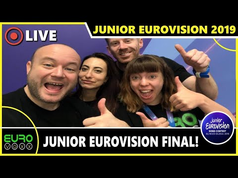 JUNIOR EUROVISION 2019 FINAL: EUROVOXX LIVE REACTION