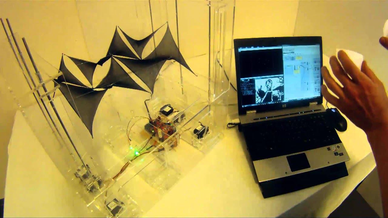 Membrane motionstudy arduino firefly reactivision