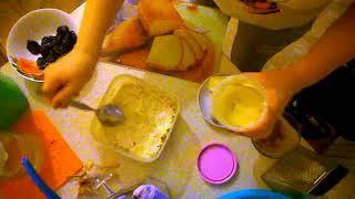 Салат с шампьонами и куриной грудкой
