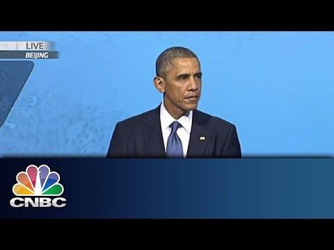 US and China Strike Visa Deal | APEC Summit 2014 | CNBC International