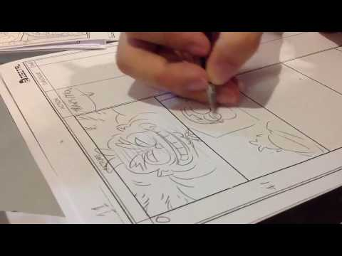 Muiki Make storyboard