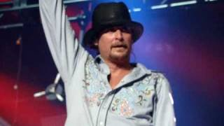 Kid Rock performing Born Free LIVE FRONT ROW