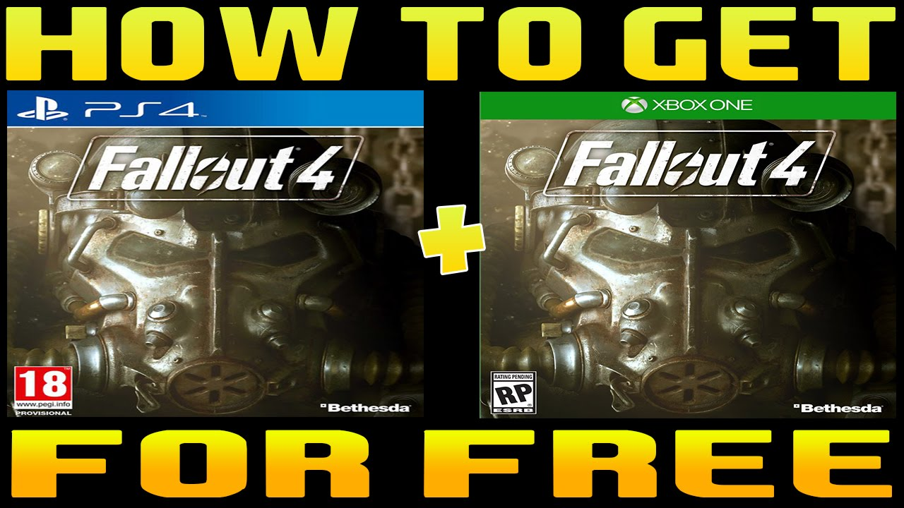 How To Get Fallout 4 For Free PC/PS4/XBOX1/PS3/XBOX360