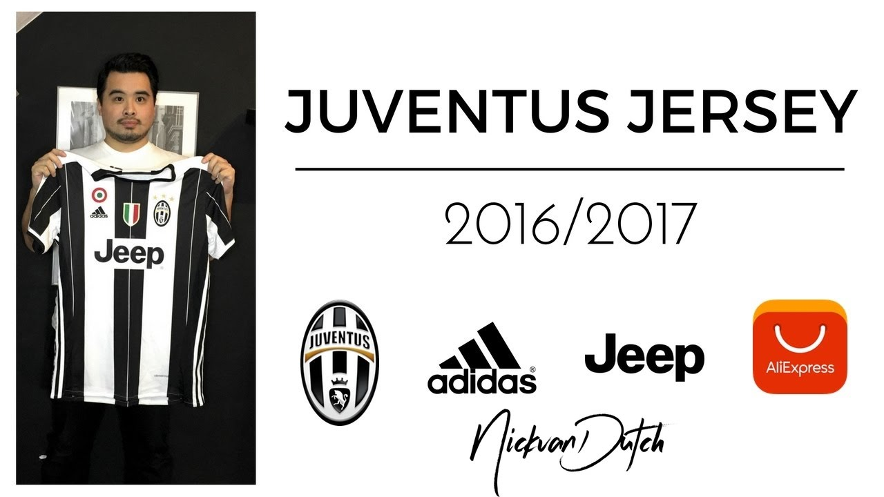 more photos 07599 8abbf JUVENTUS Jersey 2016/2017 Aliexpress Unboxing and review Football Shirt