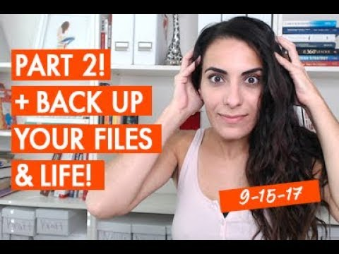Why I Fired My Husband PART 2! + Don't forget to back up your files! here's why...