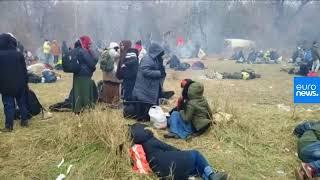 CANLI | Avrupa'ya geçmek isteyen mülteciler Edirne'de sınırda bekliyor