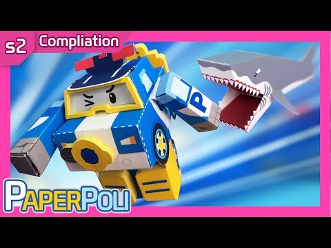 #S2 The Best Episode Compilation! | Paper POLI [PETOZ] | Robocar Poli Special