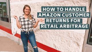 How To: Amazon FBA Customer Returns for Retail Arbitrage