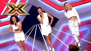 "Группа ""Sparkle"". «Bang Bang» Jessie J, Ariana Grande, Nicki Minaj. Х-фактор 6. Шестой кастинг"