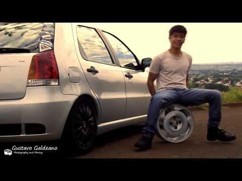 """Fiat Palio Fire 2008 de 14"""" e Rebaixado na Fixa"""