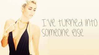 Miley Cyrus- Someone Else (LYRICS)