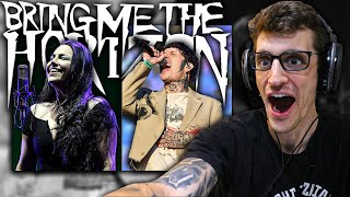 """Hip-Hop Head REACTS to BRING ME THE HORIZON ft. AMY LEE - """"One Day the Only Butterflies..."""""""