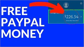 Earn FREE PayPal Money NOW! (2020)