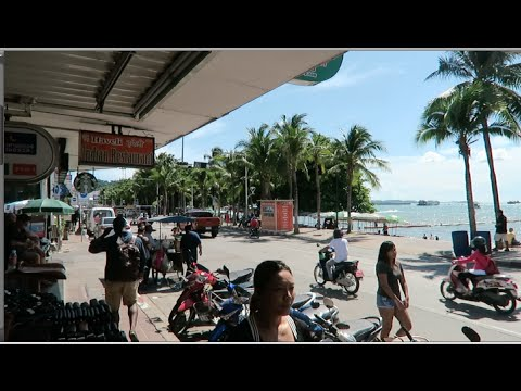 Pattaya by Day - Beach Road, and trying to find the Sportsman...