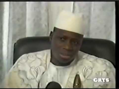 Jammeh's Interview with Nenneh  Gaye  former journaliste