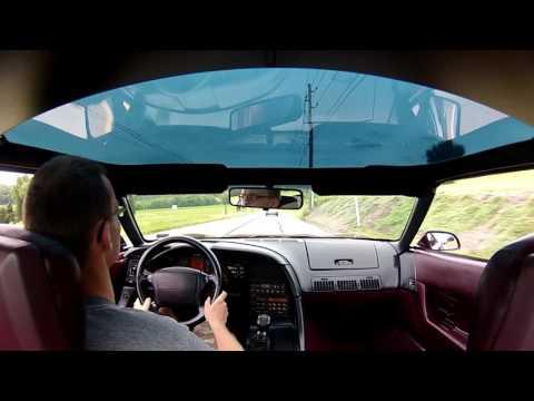 1993 C4 Corvette Audio Test Drive Part 2