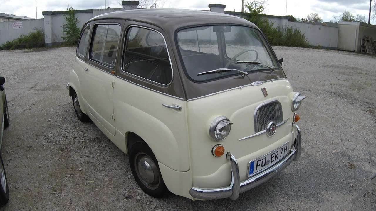 fiat multipla 600 classic car walkaround 1956 1960 youtube. Black Bedroom Furniture Sets. Home Design Ideas
