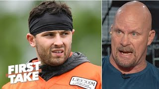 Stone Cold loves Baker Mayfield's charisma and confidence | First Take