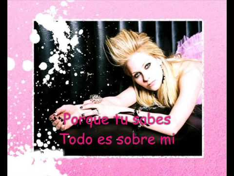 Avril Lavigne - I Don't Have To Try - Español