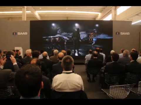 Saab Aeronáutica Montagens (SAM) - Apresentação Gripen E/F (vídeo)