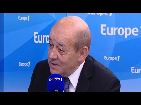 """Le Drian : """"La France a frappé en Syrie cette nuit"""""""