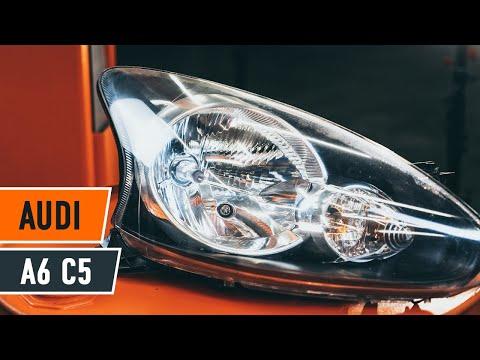 Cómo cambiar las luces delanteras en AUDI A6 C5 [Instrucción]