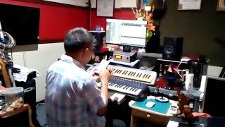 ทำซาวด์ที่ห้องอัด อ.หนุ่ม ภูไท โดยครูเติ่ง เพลง เกาหลีทำพี่ลืม