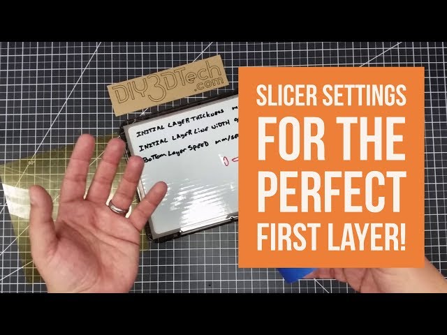 Shop Talk - Slicer Settings For The Perfect First Layer!