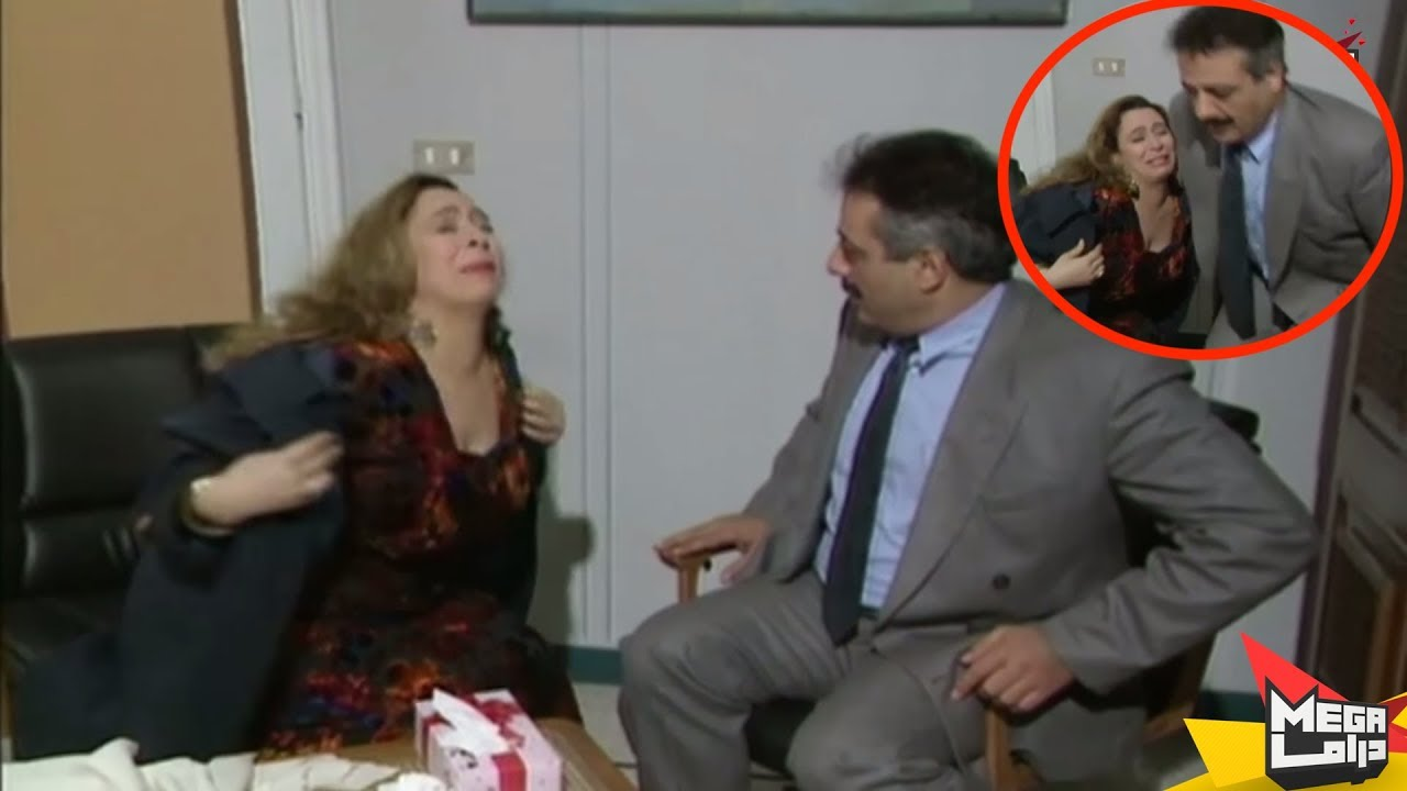 اربكت المدير العام بحركاتها فهرب من المكتب - مسلسل يوميات مدير عام - ايمن زيدان