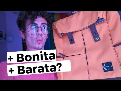 Nova Bolsa Da Xiaomi 90FUN   Xiaomi Urevo Stylish Backpack Review (PT/BR)