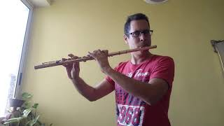 Flute Major Scale Warm-Up Exercise