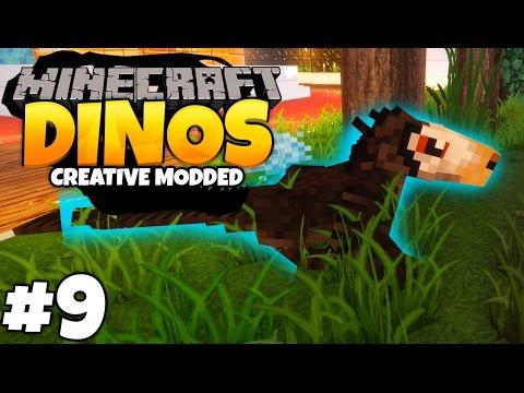 DEINONYCHUS GROWS UP | Minecraft Dinosaurs (Part 9)