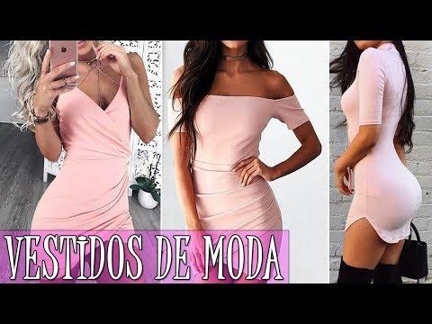 orden nuevo alto nueva colección VESTIDOS DE MODA 2018 JUVENILES CORTOS | MODA PARA MUJER TV - YouTube