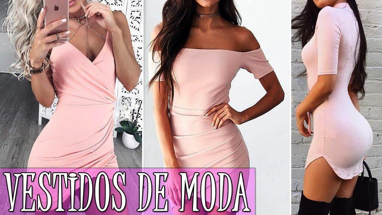 Vestidos De Moda 2018 Juveniles Cortos Moda Para Mujer Tv