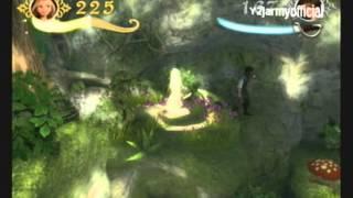 Disney Tangled Wii Walkthrough Part 2